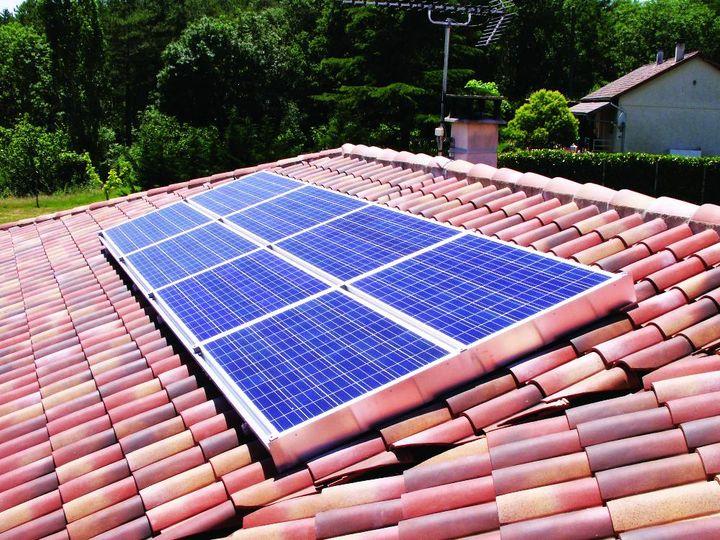 Intervention sur panneau solaire