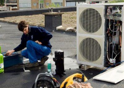 Intervention sur pompe à chaleur