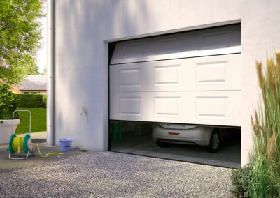 Intervention sur porte de garage